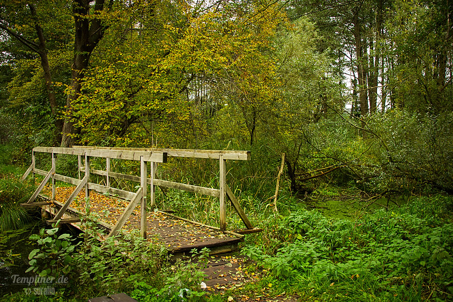 Alte Holzbruecke am Templiner Kanal