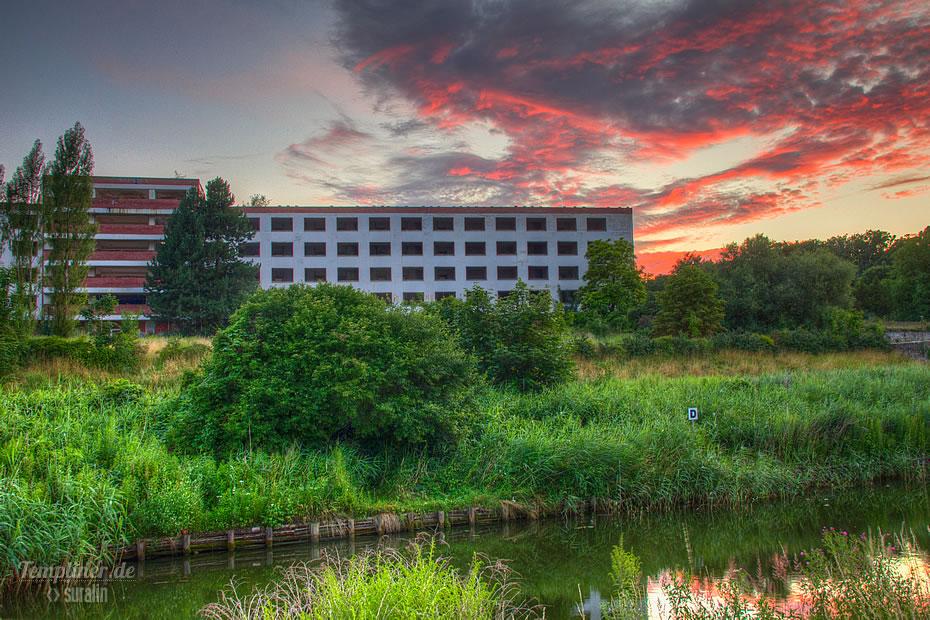 Erholungskomplex FDGB-Ferienheim Salvador Allende am Kanal (mittlerweile abgerissen)