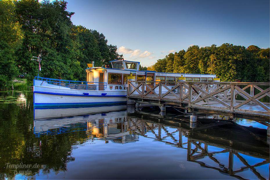 Abendstimmung am Templiner Stadtsee