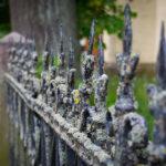 Zaun an der Maria-Magdalenen-Kirche