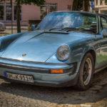 Porsche 911 beim Oldtimer-Treffen 2018 in Templin