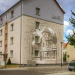 Wandbild am Wohnblock Mühlenstraße
