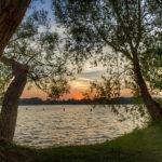 Sonnenuntergang am Röddelinsee