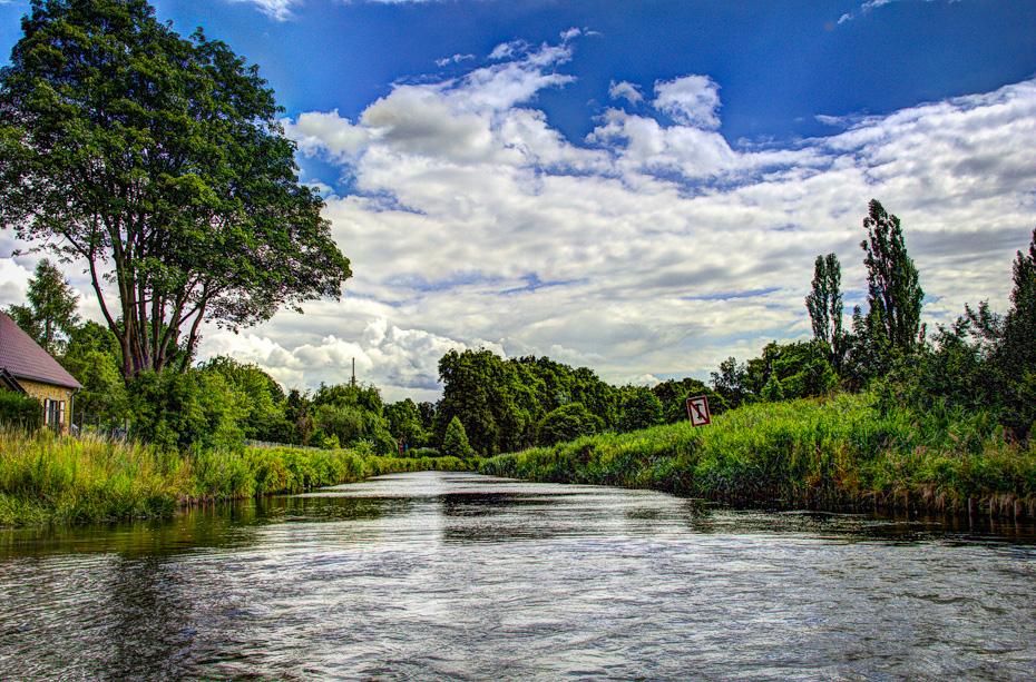 Dampferfahrt auf dem Templiner Kanal